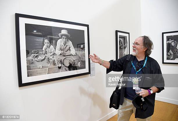 Rock Roll historian Bill Flanagan atttend the Desert Trip Photography Experience during Desert Trip at The Empire Polo Club on October 7 2016 in...