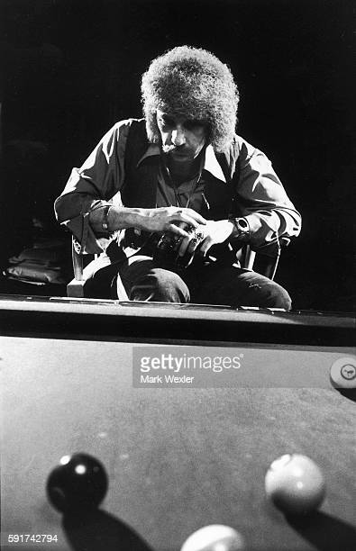 Rock Roll songwriter and record producer Phil Spector sits pensively by his pool table On February 3 Phil Spector age 62 known for his creation of...