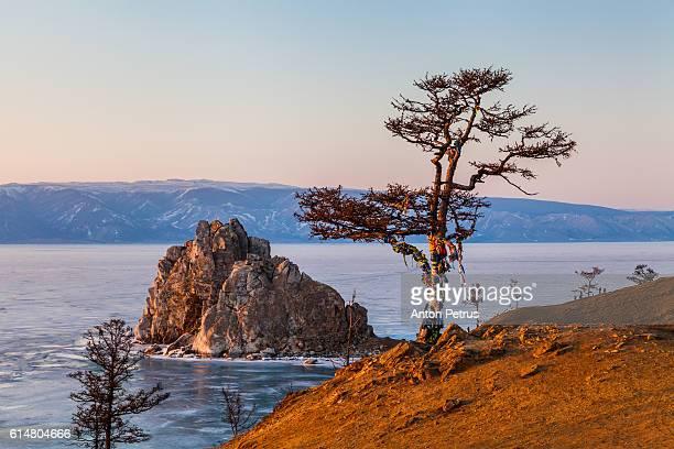 Rock Shamanka. Lake Baikal