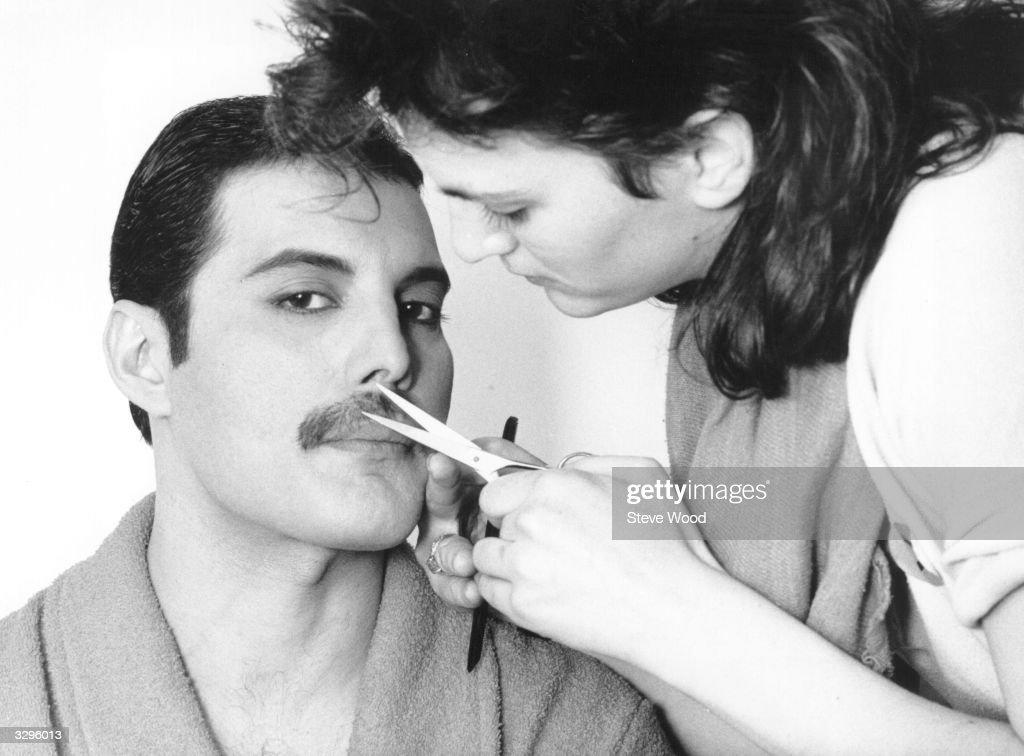 Grooming Freddie : News Photo