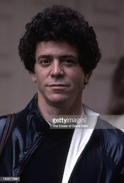 Rock singer musician and songwriter Lou Reed poses for a portrait in May 1980 in New York City New York