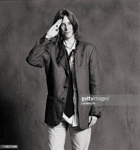 Rock singersongwriter Patti Smith Italy 1996
