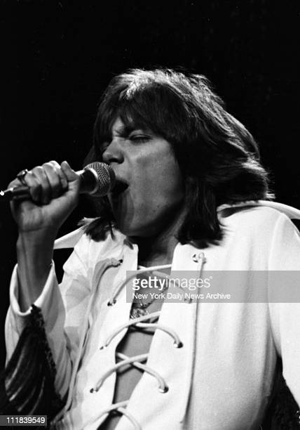Rock star David Cassidy in concert at Madison Square Garden