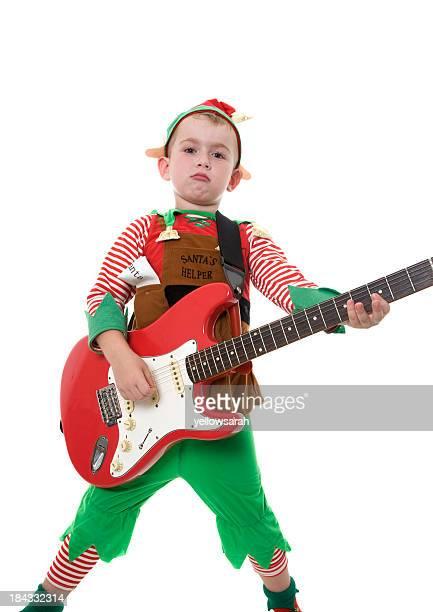 rock star elfe - rock object photos et images de collection