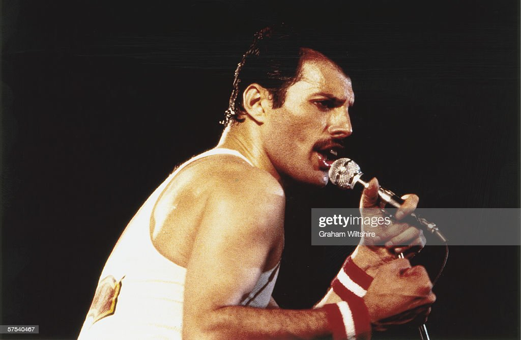Freddie Mercury : News Photo