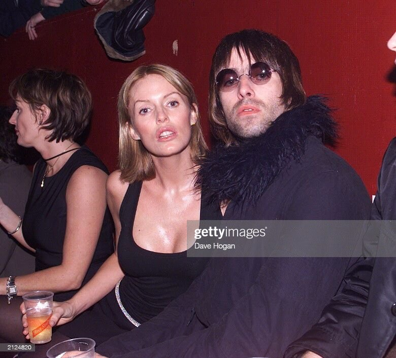 Liam Gallagher And Patsy Kensit At The Who Gig 1999 News Photo