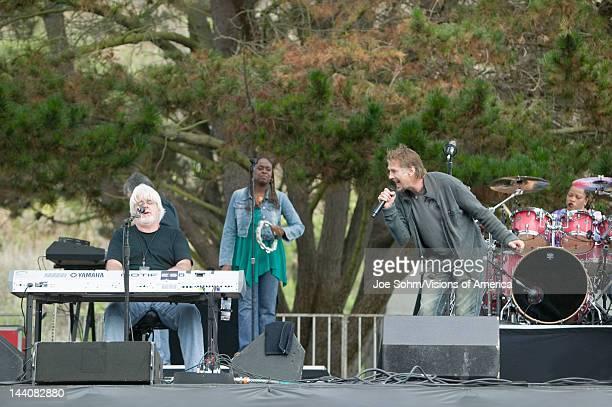 Rock star Michael McDonald performs in outdoor concert in Ventura California for the Ventura Hillsides Conservancy and the Ventura Hillsides Music...