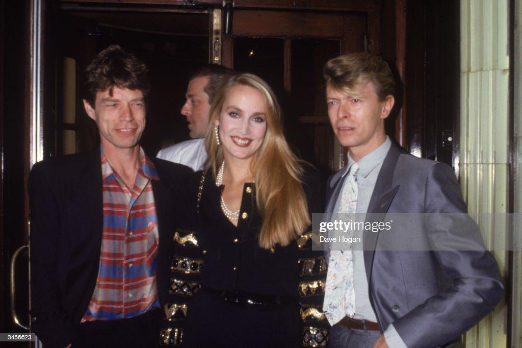 Mick, Jerry And David : News Photo