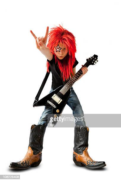 rock star - rock musician stock pictures, royalty-free photos & images
