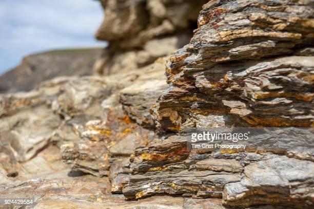 Rock Strata, Cornwall