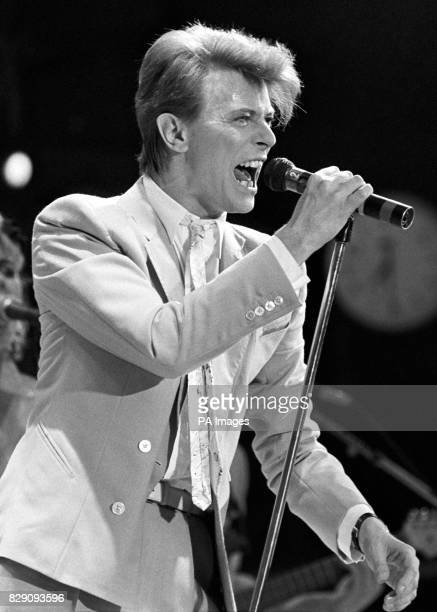 Rock superstar David Bowie who shot to fame in the early 1970s with his alter ego album The Rise and Fall of Ziggy Stardust and the Spiders From Mars...