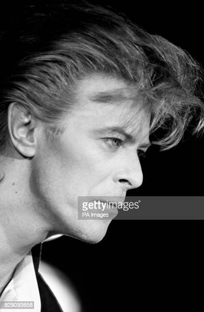 Rock superstar David Bowie who shot to fame in the early seventies with his alter ego album The Rise and Fall Ziggy Stardust and the Spiders From...