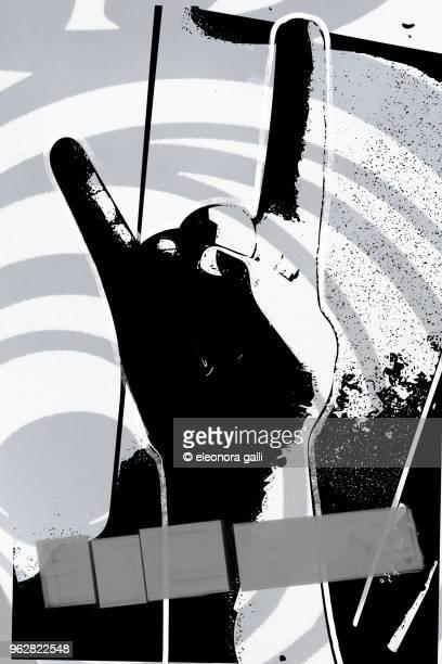 rock this - パンクロック ストックフォトと画像