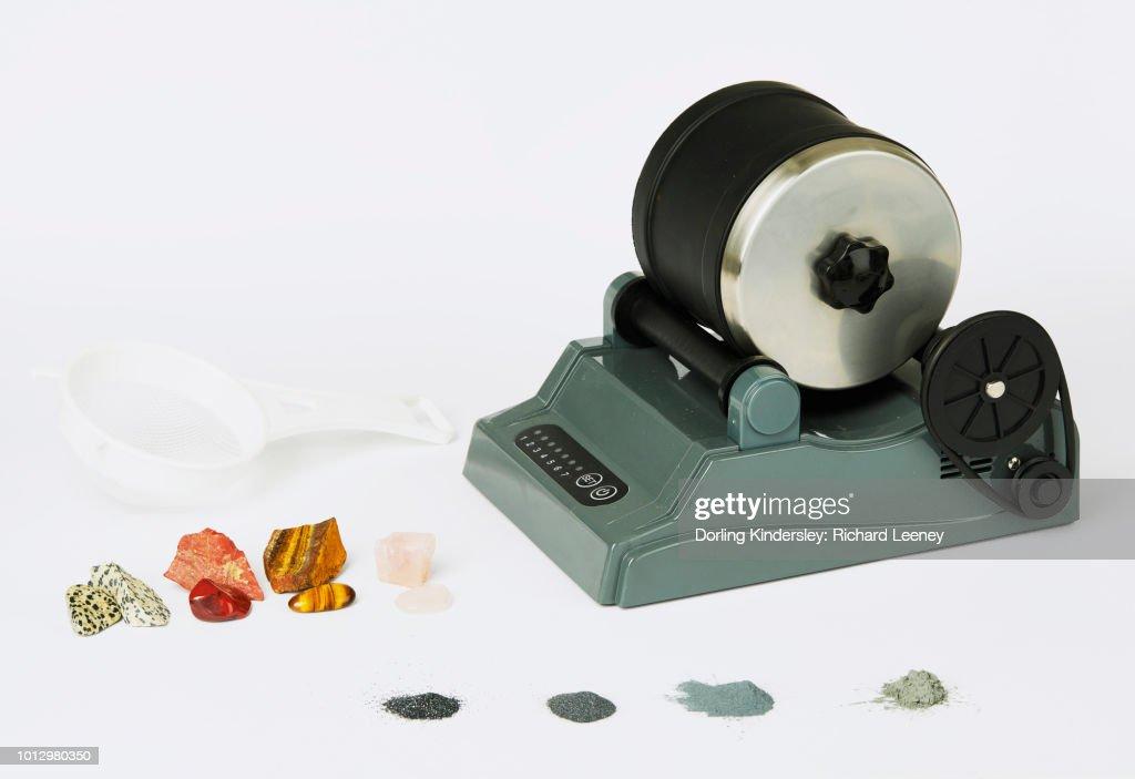 Rock tumbler : Stock-Foto