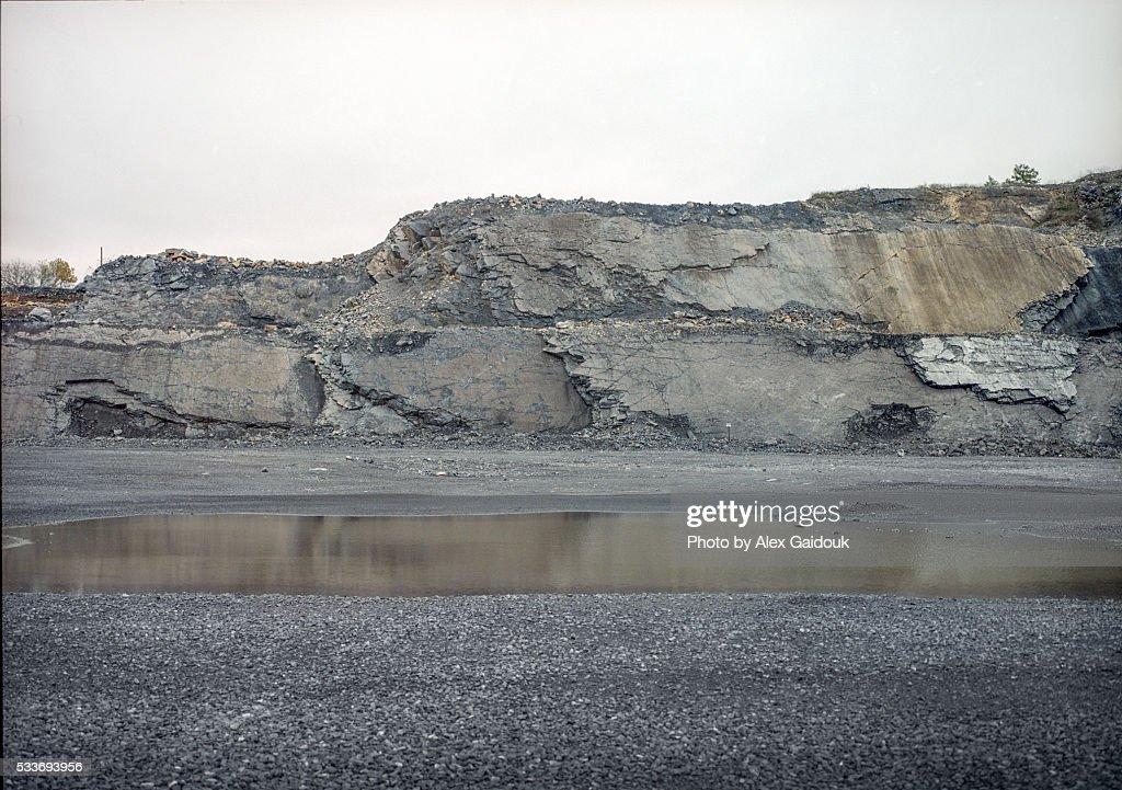 Rock wall : Foto stock