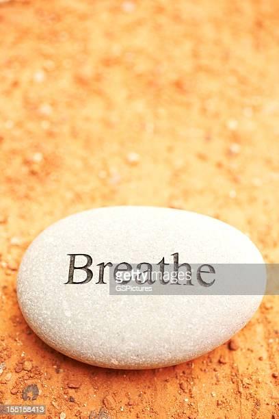 Rock com respirar escrito.