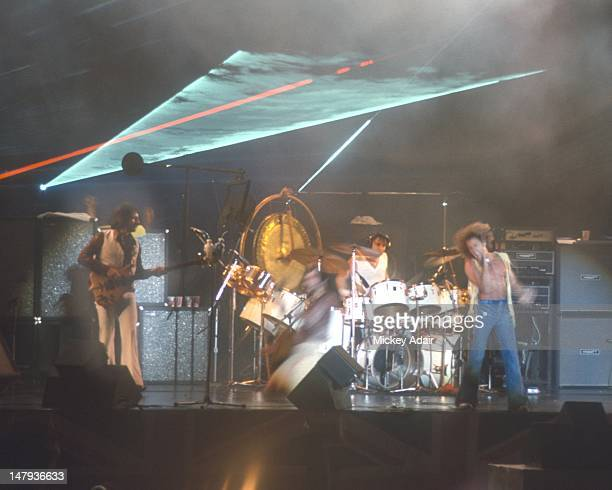 Rocka and roll band The Who at The Gator Bowl in Jacksonville FL on August 7 1976