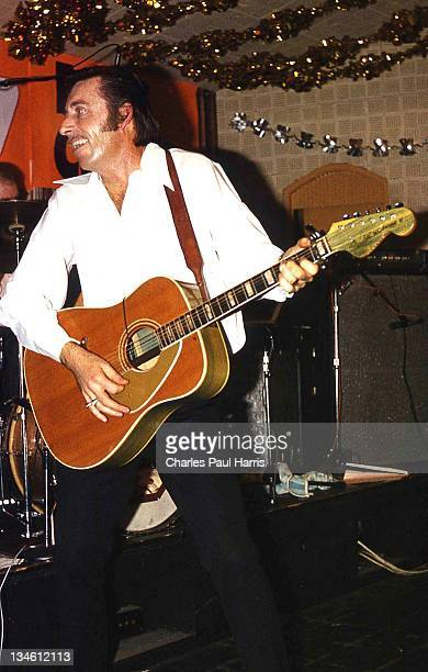 Rockabilly artist Mac Curtis performs at The Royalty in Southgate on December 15, 1977 in London, England.