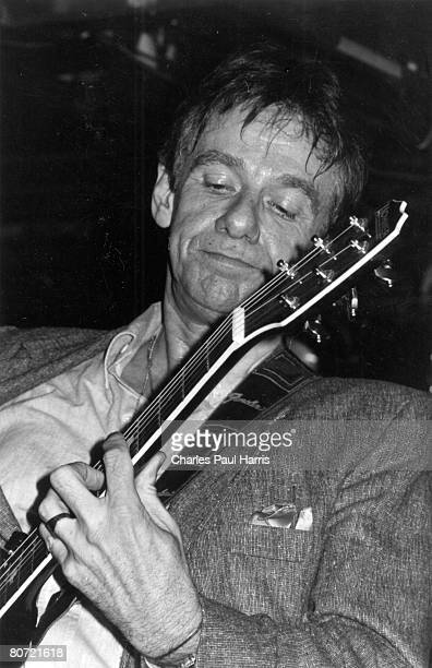 Rockabilly singer/songwriter Dale Hawkins performs onstage at the Dingwalls in 1987 in London, England.