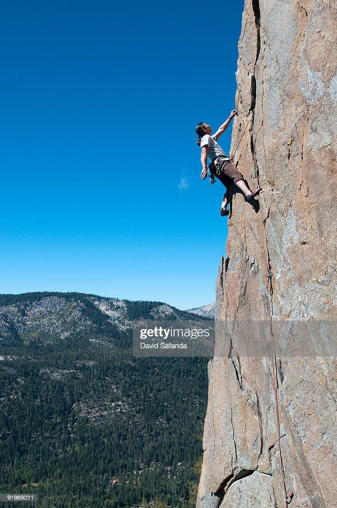 Rockclimber : Stock Photo