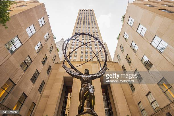 Rockefeller Center and the Atlas Statue