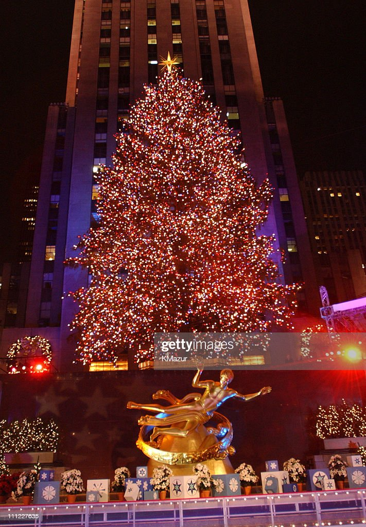 Rockefeller Center Christmas Tree during The 69th Annual Rockefeller Center Christmas Tree Lighting in New York : tree lighting new york - azcodes.com