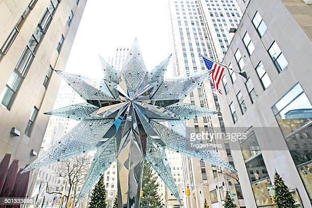 Sapin de Noël du Rockfeller Center étoiles