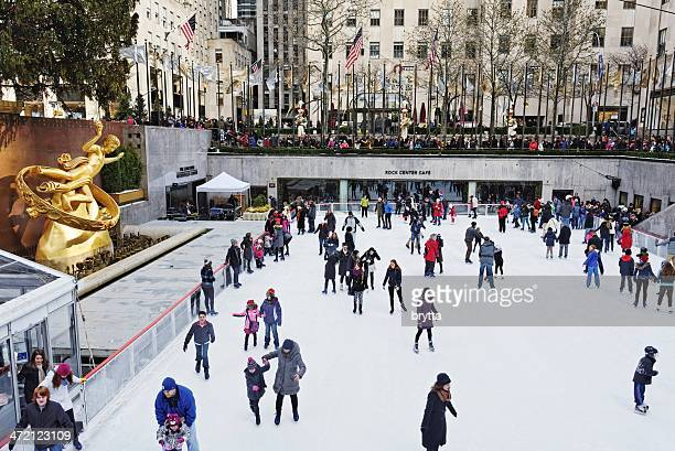 Rockefeller Center ice rink and plaza