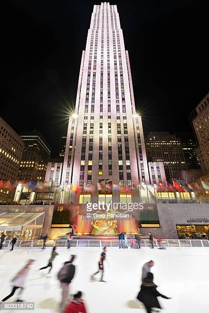 Rockefeller Center Ice Rink - New York