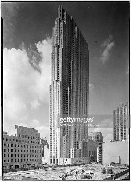 Rockefeller Center. RCA Building from old Union Club. RCA Building