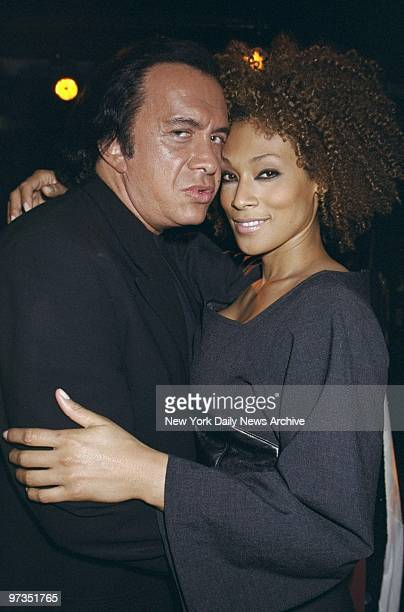 Rocker Gene Simmons meets plus size super model Tami backstage at the filming of the documentary Curve at the Club OHM Simmons said he liked large...