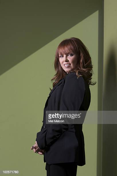 Rocker Pat Benatar poses for a portrait session on June 18 Los Angeles CA Published Image CREDIT MUST READ Mel Melcon/Los Angeles Times/Contour by...