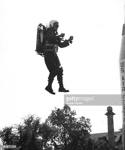 SEP 17 1961 9291961 Rocket Belts Going up Harold *****