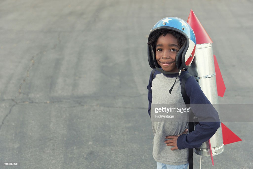 Rocket Boy : Stock Photo