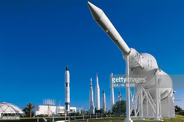 Rocket Garden Kennedy Space Center Cape Canaveral Florida United States of America