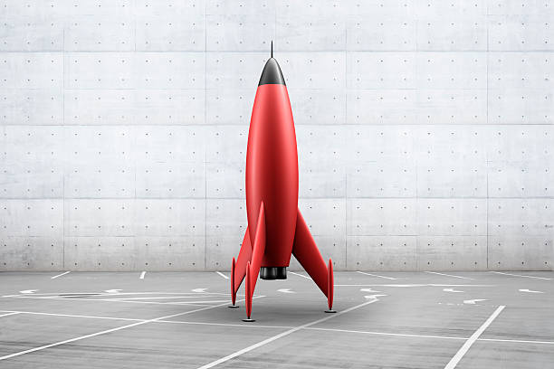 Rocket in parking lot
