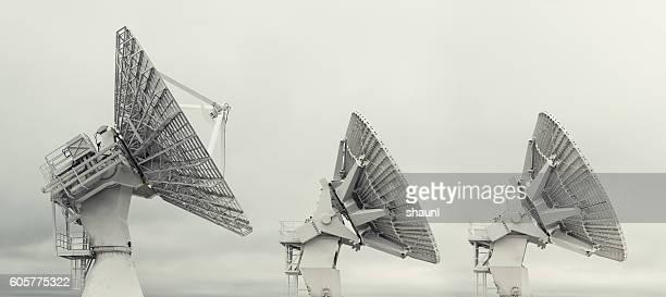 Rocket Tracking Satellite Dishes