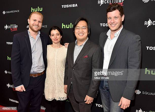 RocketJump CoFounder Ben M Waller Hulu head of original programming Beatrice Springborn RocketJump cofounder Freddie Wong and Director Digital...