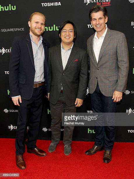 RocketJump Executive Producer Ben M Waller Cofounder/Executive Producer Freddie Wong and Director Digital Programming Lionsgate Television Jordan...