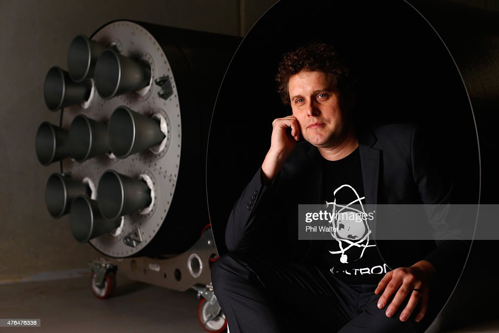 RocketLab CEO, Peter Beck poses for a portrait at the company's Auckland headquarters on June 10, 2015 in Auckland, New Zealand. The Rutherford, a battery-powered rocket engine printed on 3D parts developed by New Zealand space technology company, RocketLab, is set to reduce the cost for companies to send satellites to space by as much as US$5-45 million. Test flights will begin this year with a goal to provide commercial launch operations by 2016.