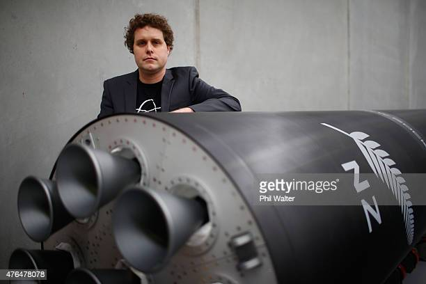 RocketLab CEO Peter Beck poses for a portrait at the company's Auckland headquarters on June 10 2015 in Auckland New Zealand The Rutherford a...