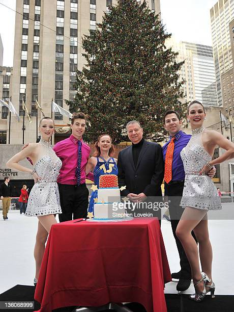 Rockette Karen Ritchie figure skater Kurt Lingenfelter figure skater Colleen McGuire Patina Restaurant Group CEO Nick Valenti figure skater Josiah...
