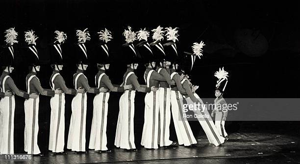Rockettes and Emmanuel Lewis during ABC TV Celebrates 1985 May 8 1985 at Radio City Music Hall in New York City New York United States