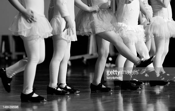 Rockettes in training