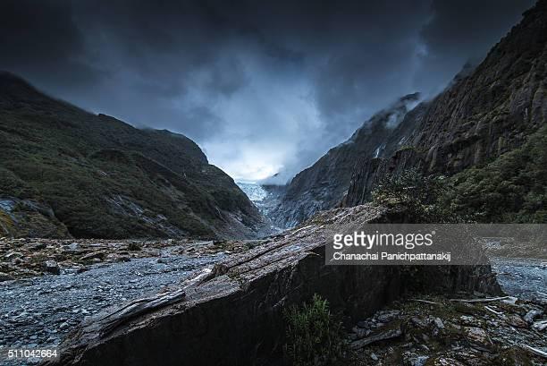 Rockey valley at Franz Josef Glacier