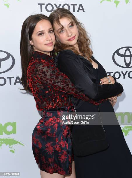 Rockie Adlon and actress Odessa Adlon attend the 28th Annual EMA Awards Ceremony at Montage Beverly Hills on May 22 2018 in Beverly Hills California