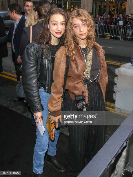 Rockie Adlon and Odessa Adlon are seen on December 09 2018 in Los Angeles California