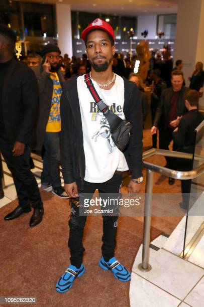 Rockie Fresh attends Spotify Best New Artist 2019 event at Hammer Museum on February 7 2019 in Los Angeles California