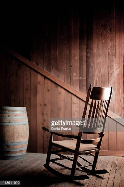 rocking chair - rocking chair stock pictures, royalty-free photos & images