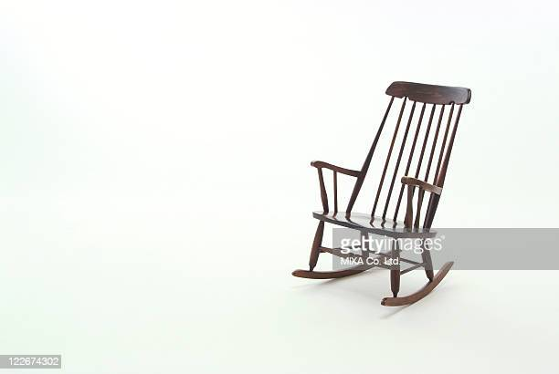 rocking chair - rocking chair stock photos and pictures